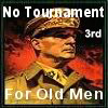 No Tournament for Old Men-3rd place