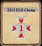 2013 ELO Champion