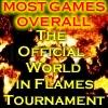 World in Flames Tournament - Overall Games Played Leader